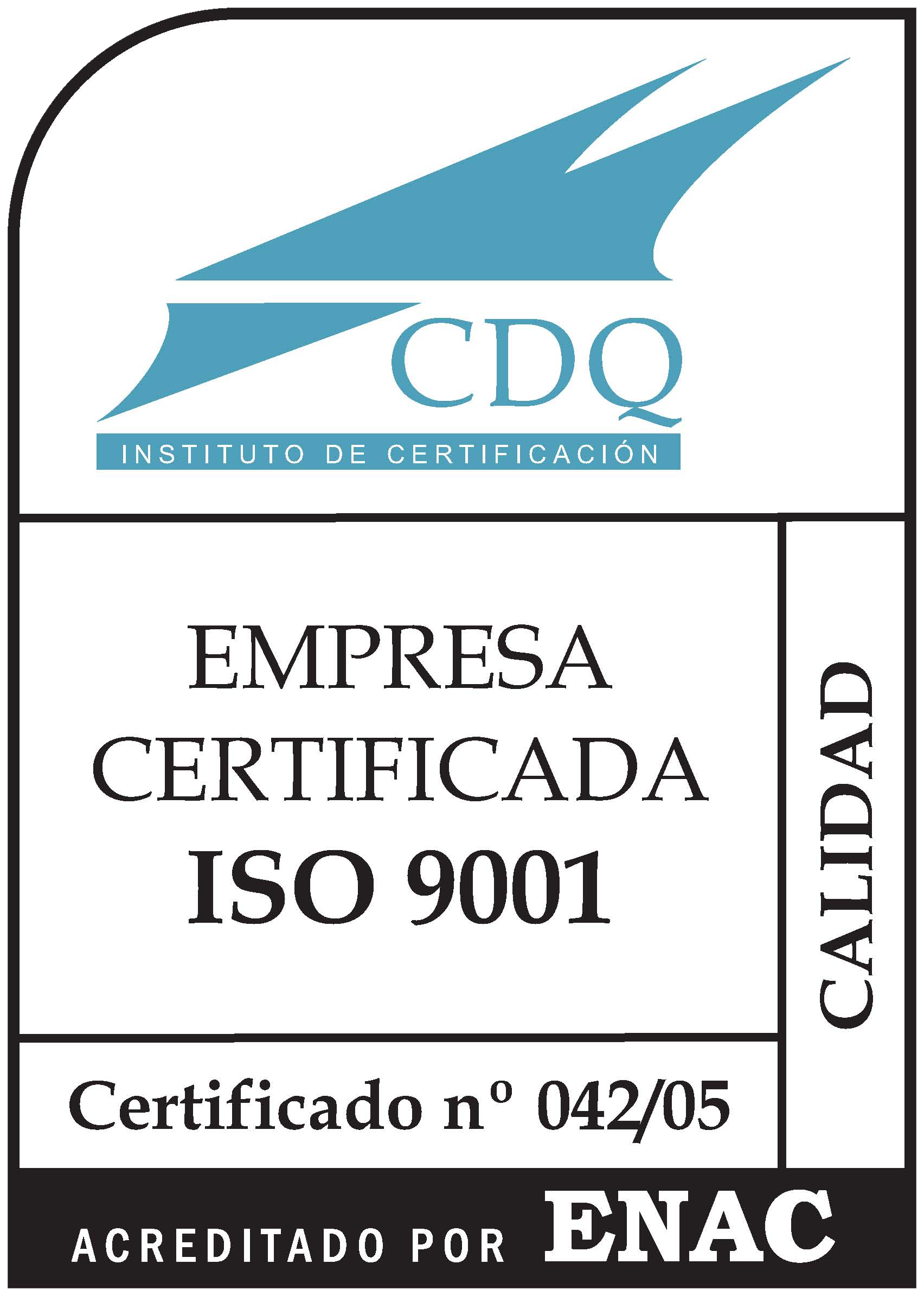 04205 ISO 9001 COLOR ENAC Palesa Laser Technology